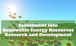 Investment into Renewable Energy Resources