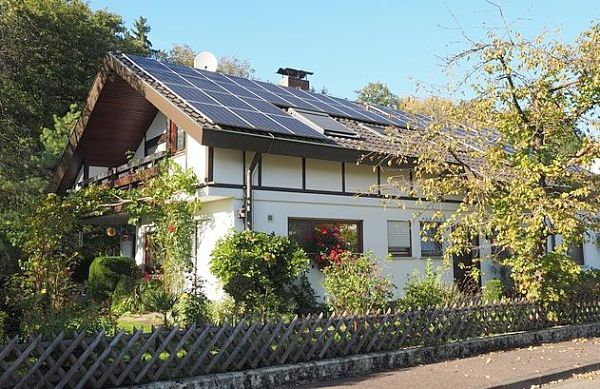 Solar energy facts: Some residential homes display large roof top arrays of solar panels