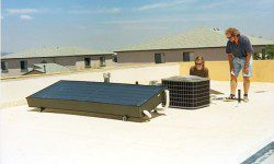 Solar Powered Air Conditioner for a Cool Future